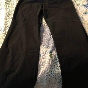 Ann Taylor 6p modern trouser leg slacks